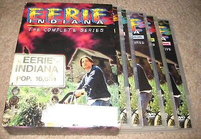 Eerie Indiana The Complete Series DVD 5-Disc Set R1 USA OOP Box Set All 19 Eps.