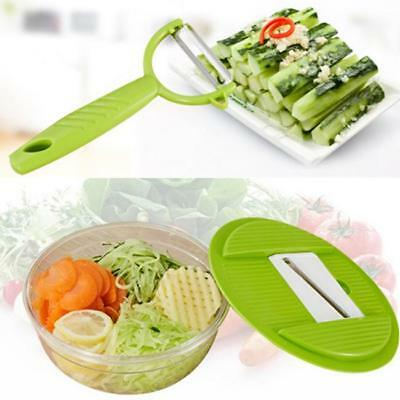 Super Slicer Plus Vegetable Fruit Peeler Dicer Cutter Chopper Nicer Grater - Y2
