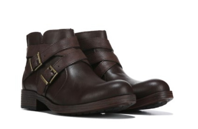 NEW BORN B O C Max Brown Ankle Booties Boots Womens 7 Z45823