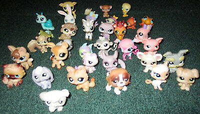 Littlest Pet Shop Mixed Lot of 35 Dogs Cats and more