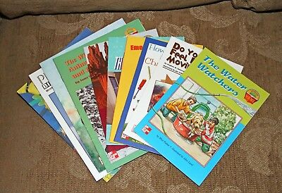 Lot of 10 Grade 4 McGraw Hill Science Readers  Excellent