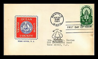 Dr Jim Stamps Us Fifth World Forestry Congress Fdc Cover Seattle 1960