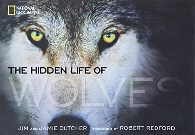 The Hidden Life of Wolves by Dutcher, Jamie Book The Cheap Fast Free Post