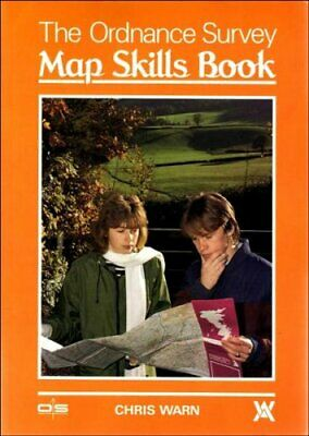 The Ordnance Survey Map Skills Book by Warn, Chris Paperback Book The Cheap Fast