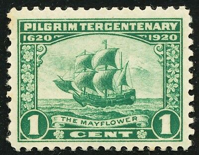 Dr Jim Stamps Us Scott 548 1C Pilgrim Tercentenary Unused Og Nh No Reserve
