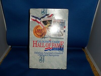 U.s. Olympic Hall Of Fame Series Cards Box Of 36 Cards Sports Collection New