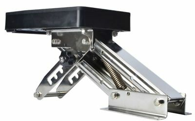 New Outboard Motor Bracket Kicker for Boat, Up to 25hp Auxilary Trolling Mount