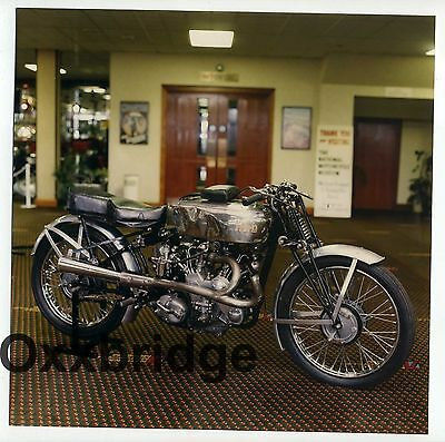 1938 VINCENT MOTORCYCLE COMPANY Racing Bike Photo Vintage Classic