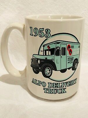 Vintage Friskies ALPO Delivery Truck Coffee mug cup advertising