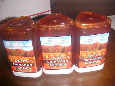 X3 Bath Body Works Smartsoap Smart Soap Sweet Cinnamon Pumpkin Refills $24Srp!