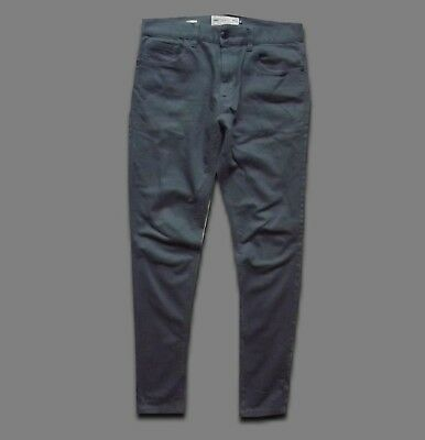 NEXT SKINNY..30L..MEN'S STRETCH DENIM GREY 2% LYCRA..30x33..JEANS SLIM PANTS