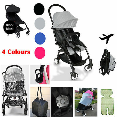 xNew 2019 Compact Lightweight Baby Stroller Pram Easy Fold Travel Carry on5Plane