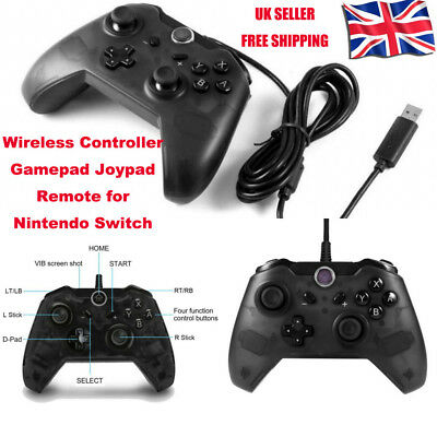 HOT USB Pro Controller Gamepad Joypad Remote for Nintendo Switch Console