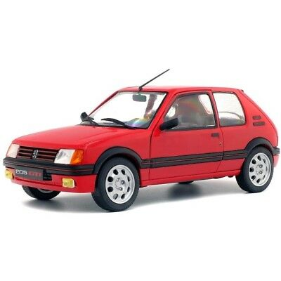Peugeot 205 GTI 1,9 1985 Red 1/18 - S1801702 SOLIDO