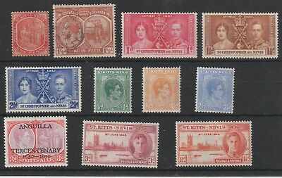 STAMPS FROM St KITTS AND NEVIS 1903.