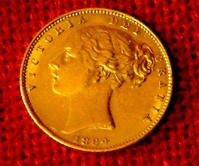 Gold Sovereign 1864 Young Head from HMS DOURO shipwreck sunk 1882 off Corunna