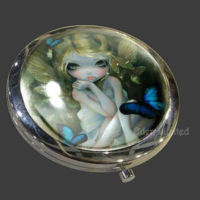 *LILY* Strangeling Fantasy Fairy Art Compact Mirror By Jasmine Becket-Griffith