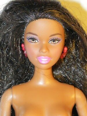 Barbie Manequin Mattel Poupee Brune Beach Fun #   2006
