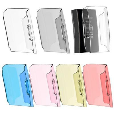 UK For Fitbit Charge 3 Transparent Shell Case Screen Protector Frame Clear Cover