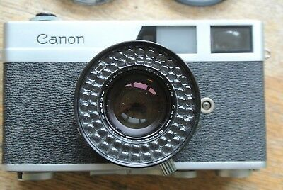 Canon Canonet Rangefinder Camera 45mm 1:1.9  SE lens VERY NICE BUT