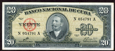 Central Bank 20 Peso 1960   Note  !!!! Unc