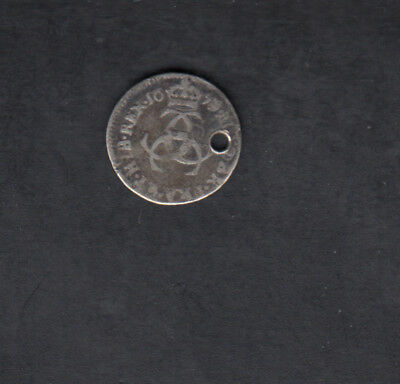 1679 Great Britain Silver 4 Pence