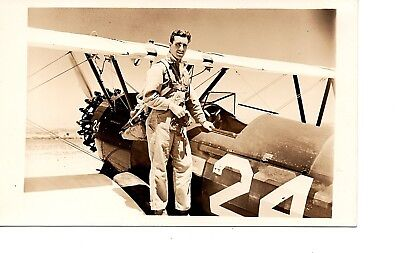 Randolph Field Wwii ~Biplane  ~  Aviation Fighter Airplane ~ Air Force Rppc  94