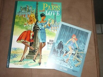 Meynet From Paris with love + ex-libris signé TL Neuf