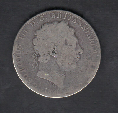 1820 Lx Great Britain Silver Crown