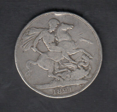 1821 Great Britain Silver Crown