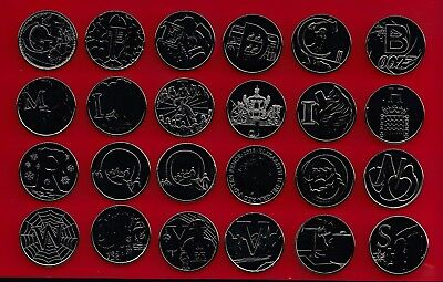 2018 10p COINS UNCIRCULATED ALPHABET A-Z TEN PENCE