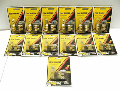 Fuse Blocks BUSS Lot Qty 13 holds 2 fuses each