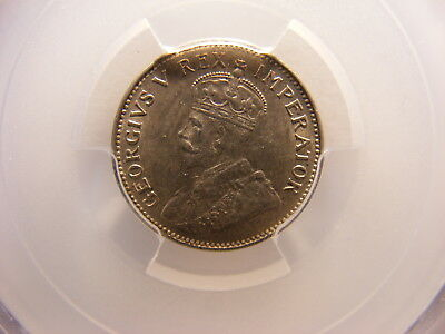 South Africa 1934 Silver 3 Pence, KM#15.2, MS-63