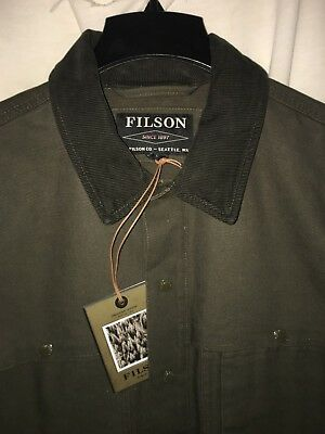 New With Tags Filson Made In Usa Limited Edition Canvas Cruiser L $350