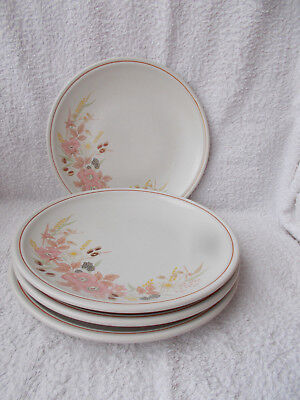 Boots Hedge Rose - 4 Dinner Plates 10""