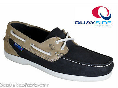 Quayside Burmuda Hand Crafted Deck Shoes - Machine Washable Ladies Deck Shoes