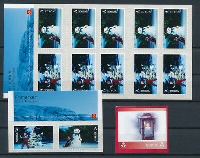[G200121] Norway 2006 very fine MNH Christmas booklet + set