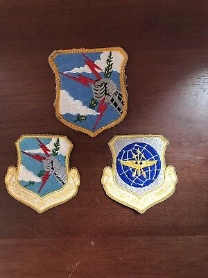 Lot 3 vintage SAC Air Force Strategic Air Command Military Patch's Airlift