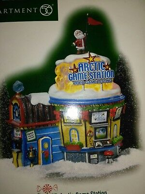 dept56 north pole series artic game station