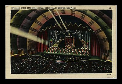 Dr Jim Stamps Us Radio City Music Hall Rockefeller Center New York Postcard