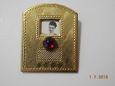 1940s Pin Radio Soap Opera Star The Romance of Helen Trent Radio Shape Rotating