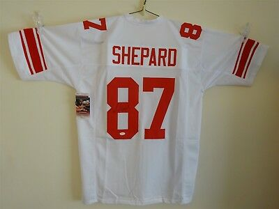 14f5607ba Sterling Shepard Signed Auto New York Giants White Jersey Jsa Autographed