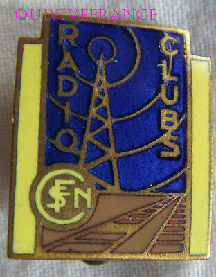 Bg7211 - Insigne Badge Radio-Club De La Sncf