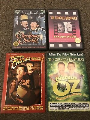 Chuckle Brothers Chucklevision Rare Dvds. With 2 Free Flyers.