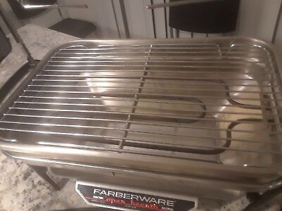 Farberware- Indoor Smokeless Grill Grill Only # 450 A -Complete- Korean Bbq Guc!