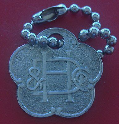 Vintage Charge Coin Tag: HOUGHTON & DUTTON; Famous Pre-1935 Boston Dept Store
