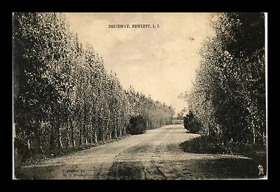 Dr Jim Stamps Us View Driveway Hewlett Li New York Postcard
