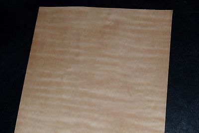 Curly Maple Raw Wood Veneer Sheets 5 x 36 inches 1/42nd               8632-15