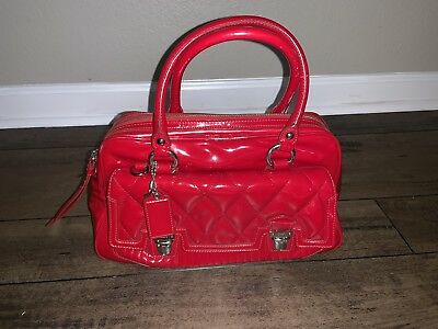 5f33b80c5802 ... wholesale red patent leather coach purse matching credit card planner  holder included 785f8 cfa42