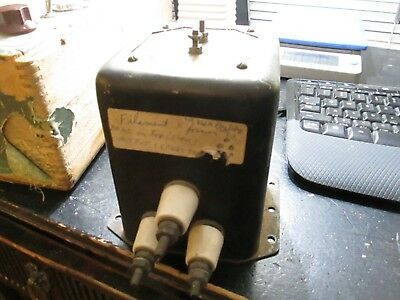 tested tube amp filament transformer for 2A3 pair or 866A 2.5VCT 5 amps